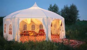 Восточный стиль шатра