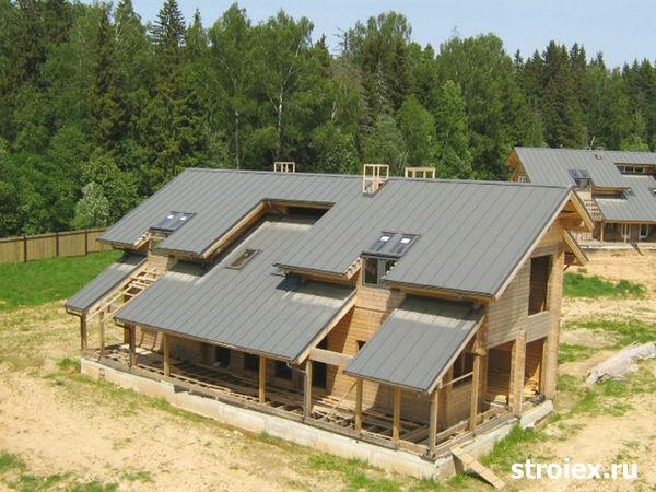 Крыша для бани из профнастила своими руками фото 409