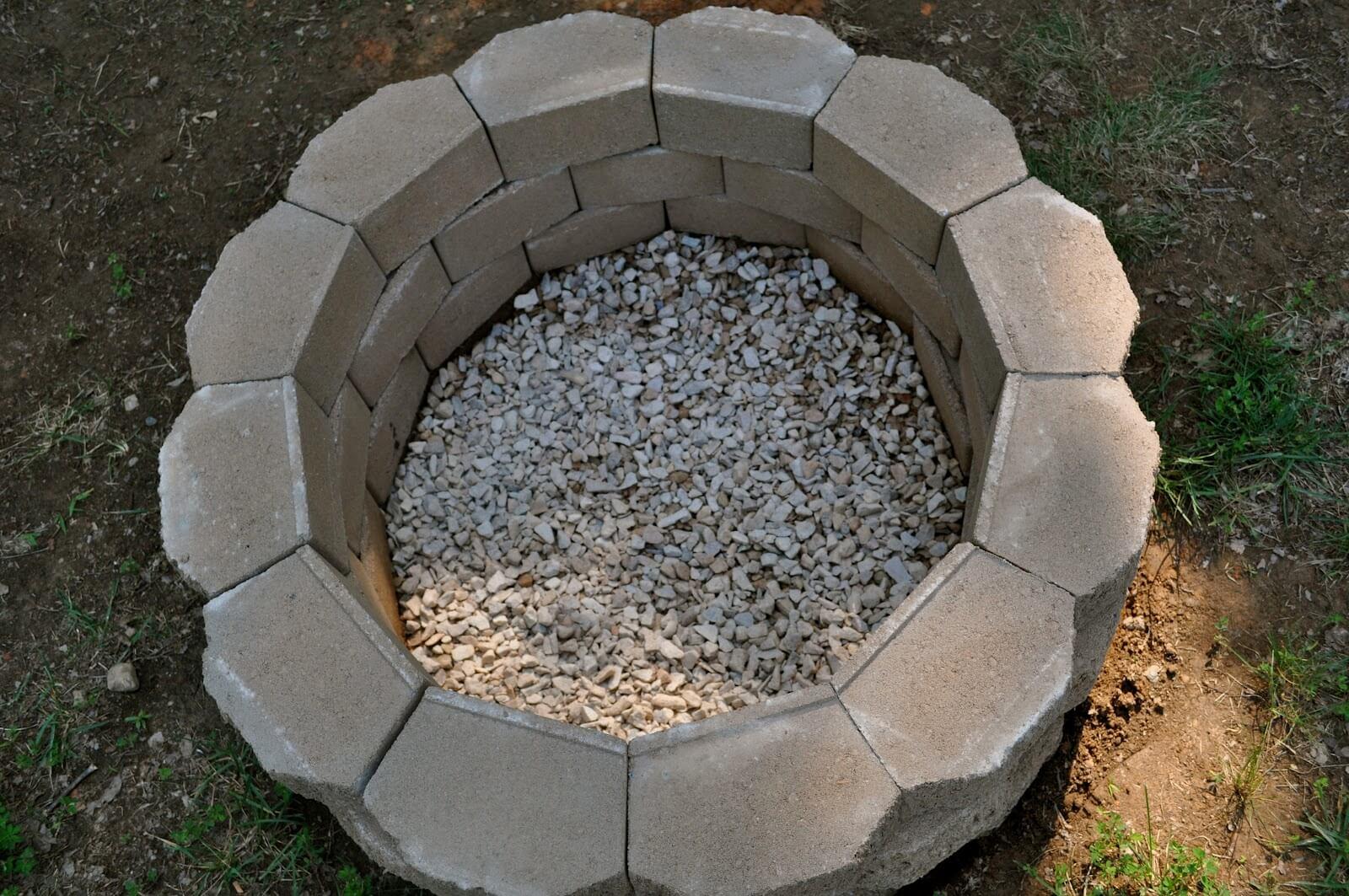 основание каменного мангала